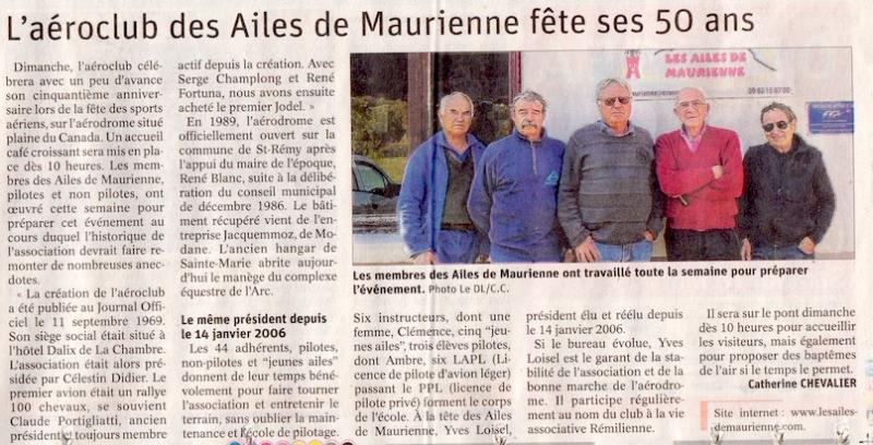 Dauphiné Libéré du 17 mai 2019